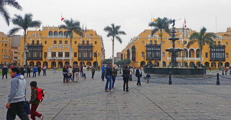 Plaza Mayor, place du centre ville de Lima