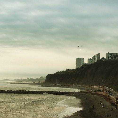 Plage de Lima, à Miraflores