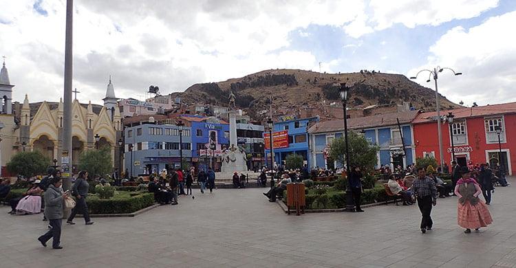 Centre-ville de Puno
