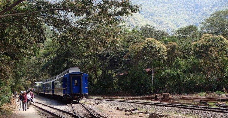 Train Aguas Calientes à Hidroelectrica