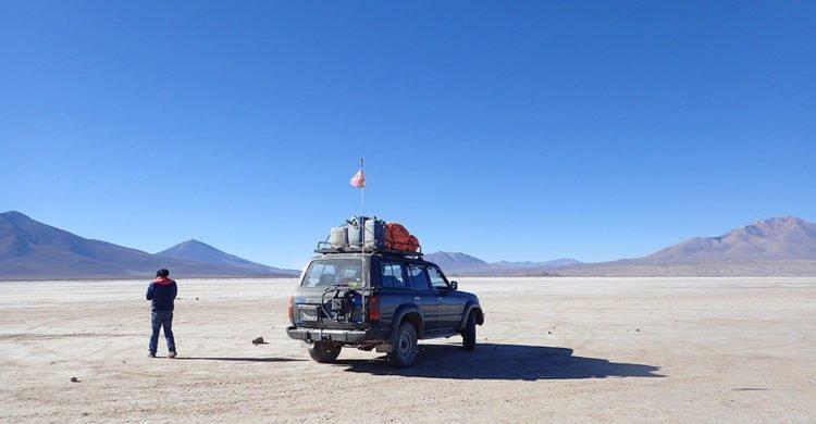 Jeep pour le trek à Uyuni