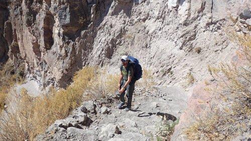 La montée du Canyon de Colca