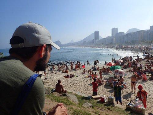 La plage mythique de Copacabana