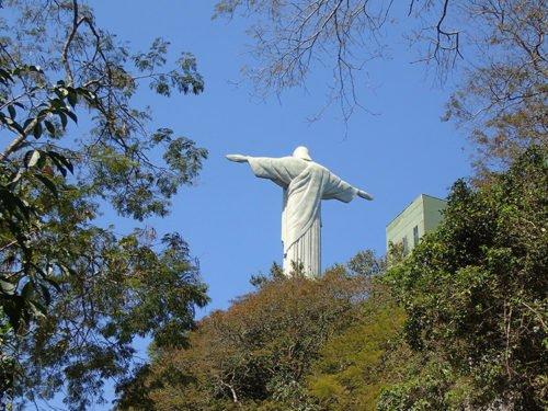 Vue sur le Christ Rédempteur de Rio