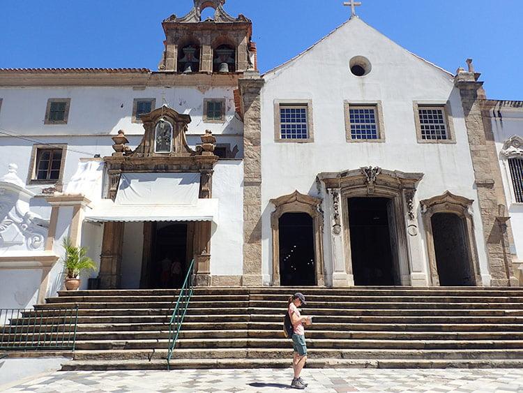 L'église Sao Francisco da Penitência