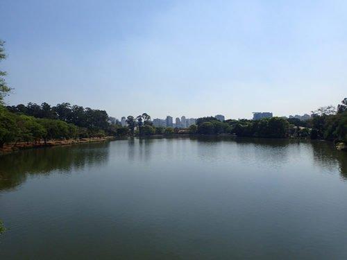 Lac du parc Ibirapuera