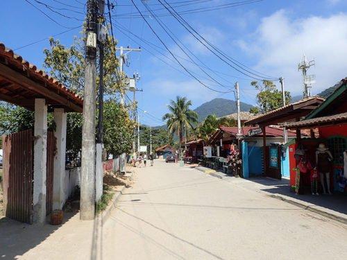 Le village de pêcheur de Trindade