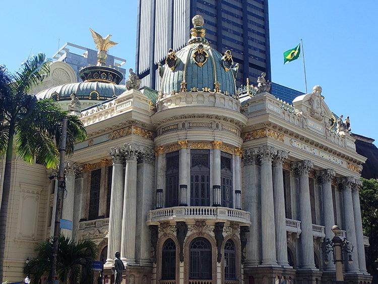 Le théâtre Municipal de Rio