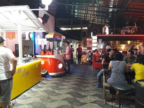 Urbanoïd, un rassemblement de food trucks à São Paulo