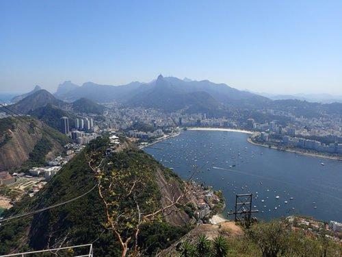 Magnifique vue sur la baie de Rio