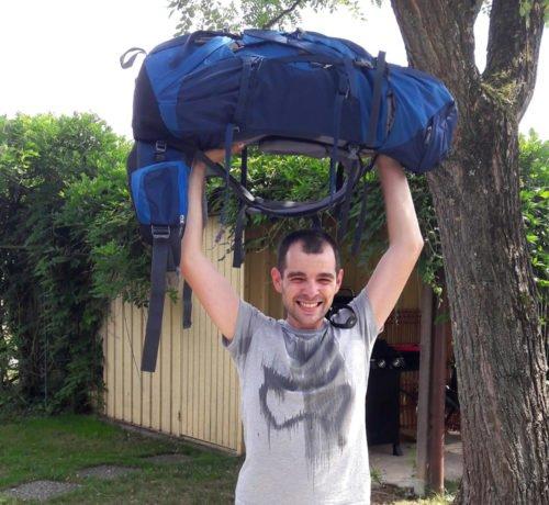 le poids du sac à dos est important