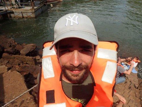 Cédric à Iguazu