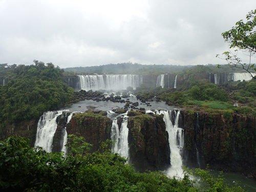 Magnifiques chutes d'Iguaçu côté Brésilien