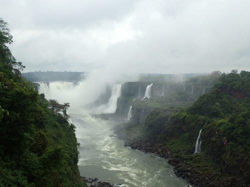 Chutes d'Iguaçu à Foz do Iguaçu