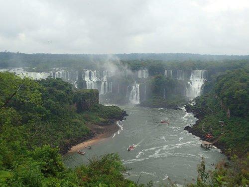 Chutes d'Iguaçu côté Brésilien