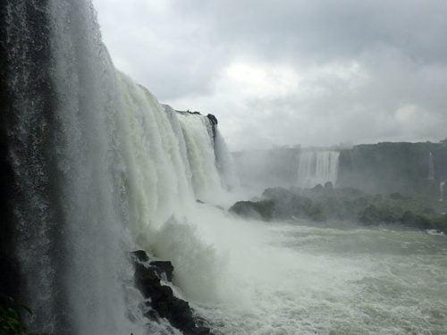 La Garganta del Diablo aux chutes Iguaçu