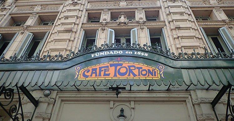 Le célèbre Café Tortoni