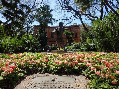 Le jardin botanique de Buenos Aires