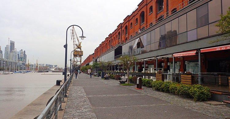 Le quartier Puerto Madero à Buenos Aires