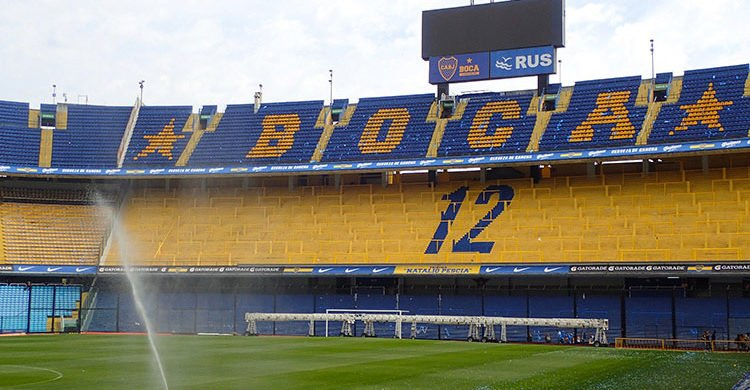 Le stade mythique de Boca Junior