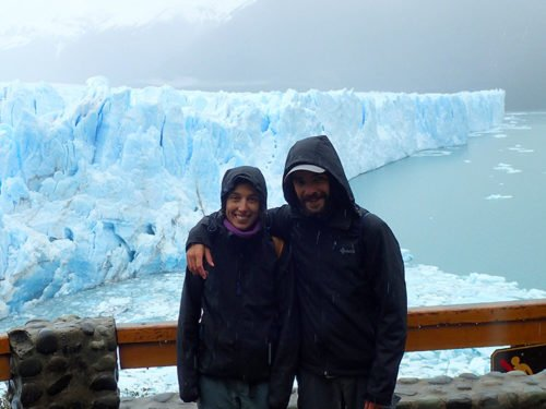 Les Avencurieux, devant le Perito Moreno