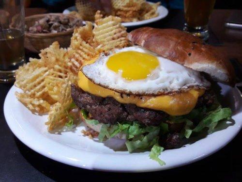 Le burger du Pluschow à El Calafate