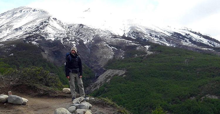Cédric à Torres del Paine