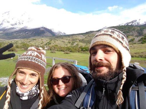 Départ de notre randonnée à Torres del Paine