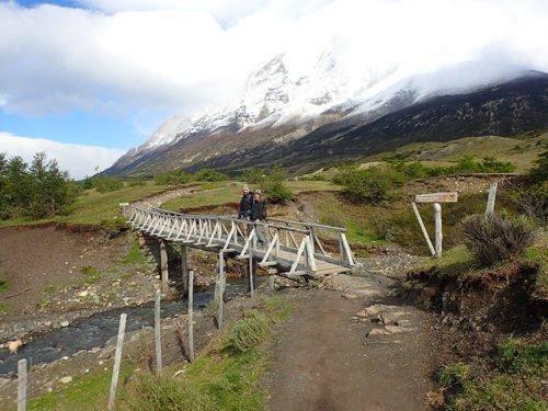 Paysage magnifique de notre trek à Torres del Paine