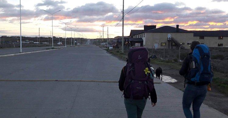 Les Avencurieux en route pour Puerto Natales, au Chili