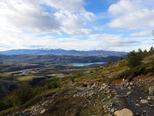 Le lac Nordernskjöld à Torres del Paine