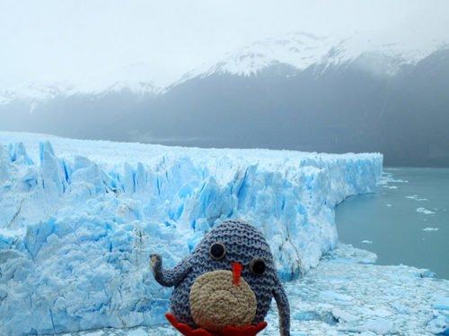 Pablo au glacier du Perito Moreno