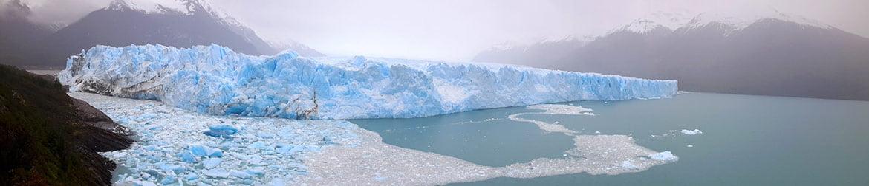 Panorama du Perito Moreno