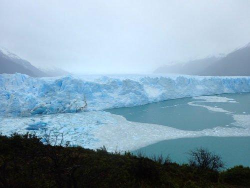 Vue sur le glacier du Perito Moreno