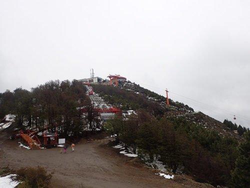 En haut du Cerro Otto
