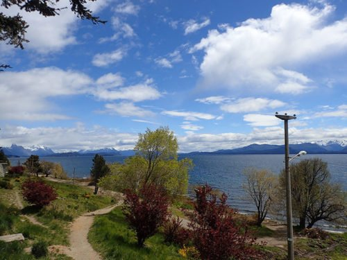 Le lac Nahuel Huapi à Bariloche