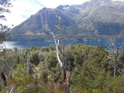 Vue sur le lac Guttiérez