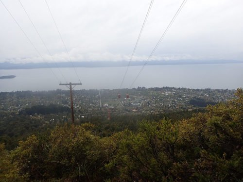 Vue depuis le Cerro Otto