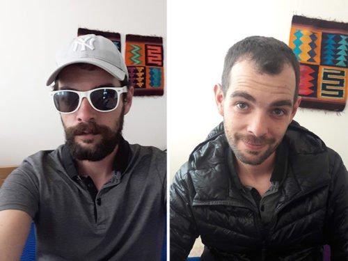 Cédric va chez le barbier à Mendoza