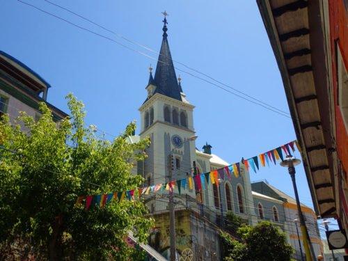 L'église Luthérienne Santa Cruz
