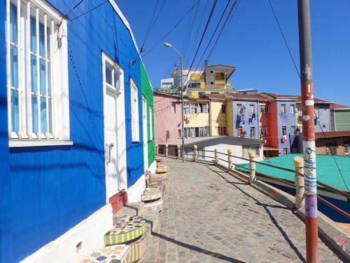 Dans les ruelles du Cerro Bellavista