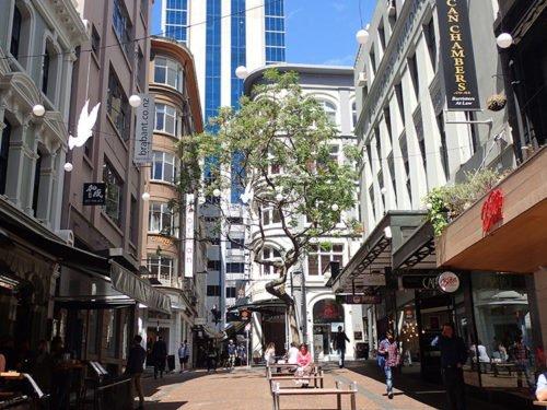 Rue dans le Central Business District