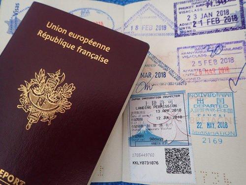 Passeport français