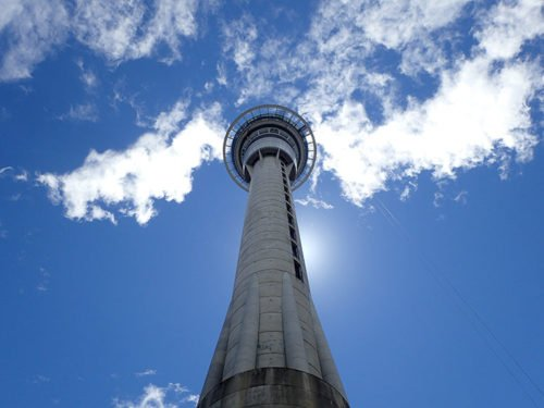 La Sky Tower à Auckland