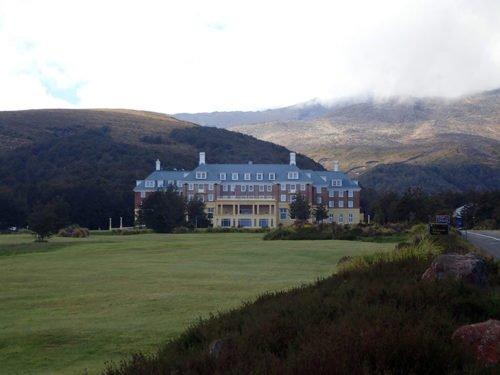 Le château Tongariro est un hôtel mythique de la région