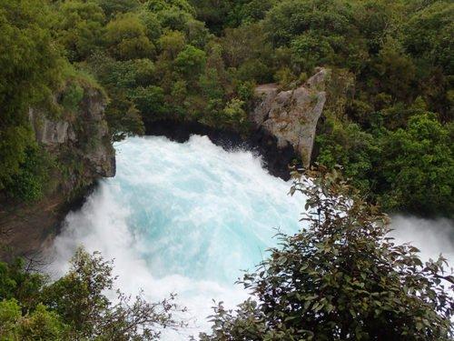 Les sensationnelles Huka Falls