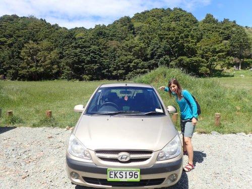 Notre carrosse pour un mois de road trip en Nouvelle-Zélande