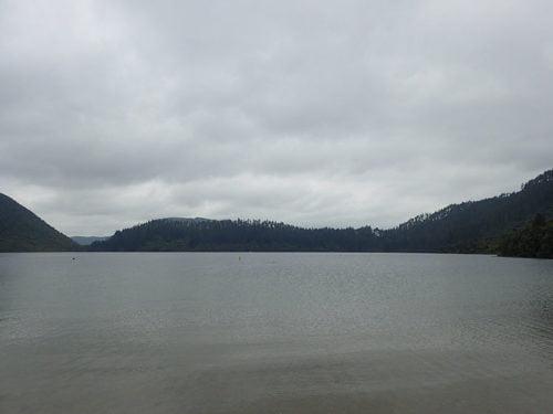 Lac bleu à Rotorua