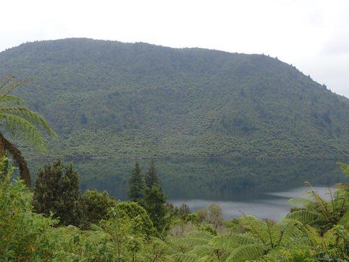Lac vert à Rotorua