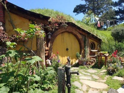 Maison de Sam à Hobbiton